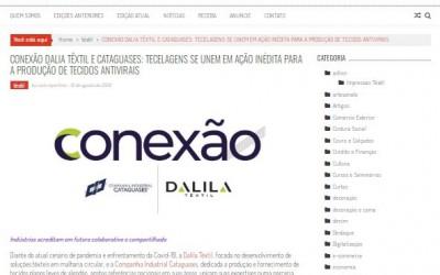 A empresa Dalila Têxtil foi destaque na Revista Costura Perfeita, um dos maiores portais do setor têxtil nacional