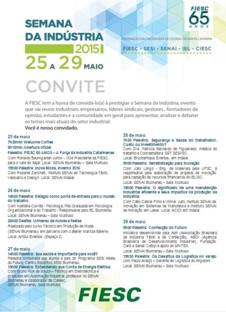 Semana da Indústria Vale do Itajaí