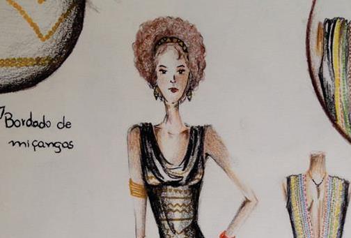 Aluna do SENAI de Blumenau é a única selecionada em SC para o SENAI Brasil Fashion