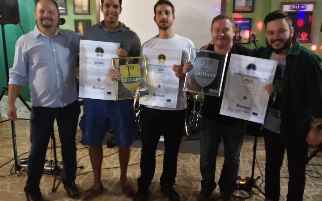 Bierland anuncia os vencedores do 4º Concurso Cervejeiro Caseiro