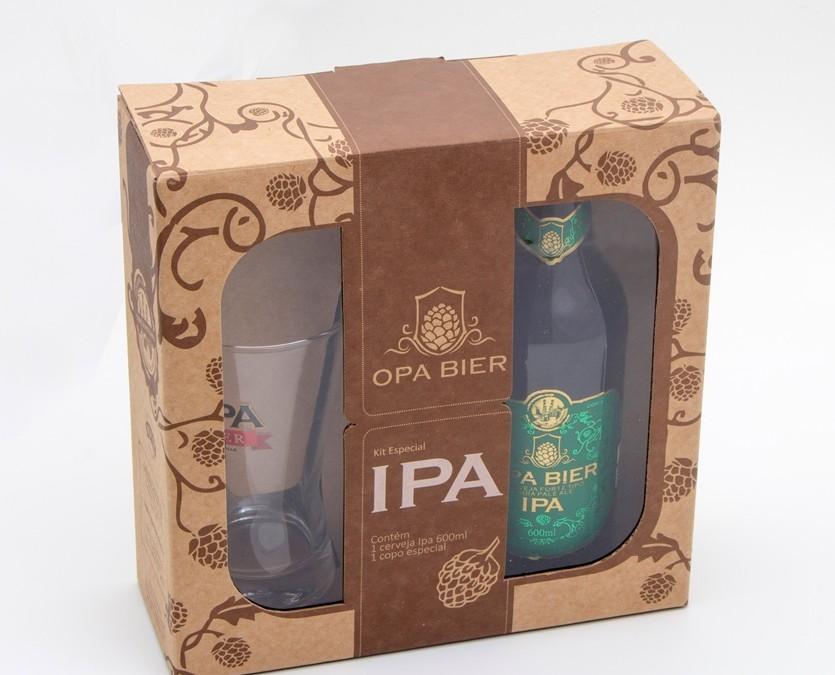 Embalagem para novo kit da cervejaria Opa Bier alia qualidade à sustentabilidade