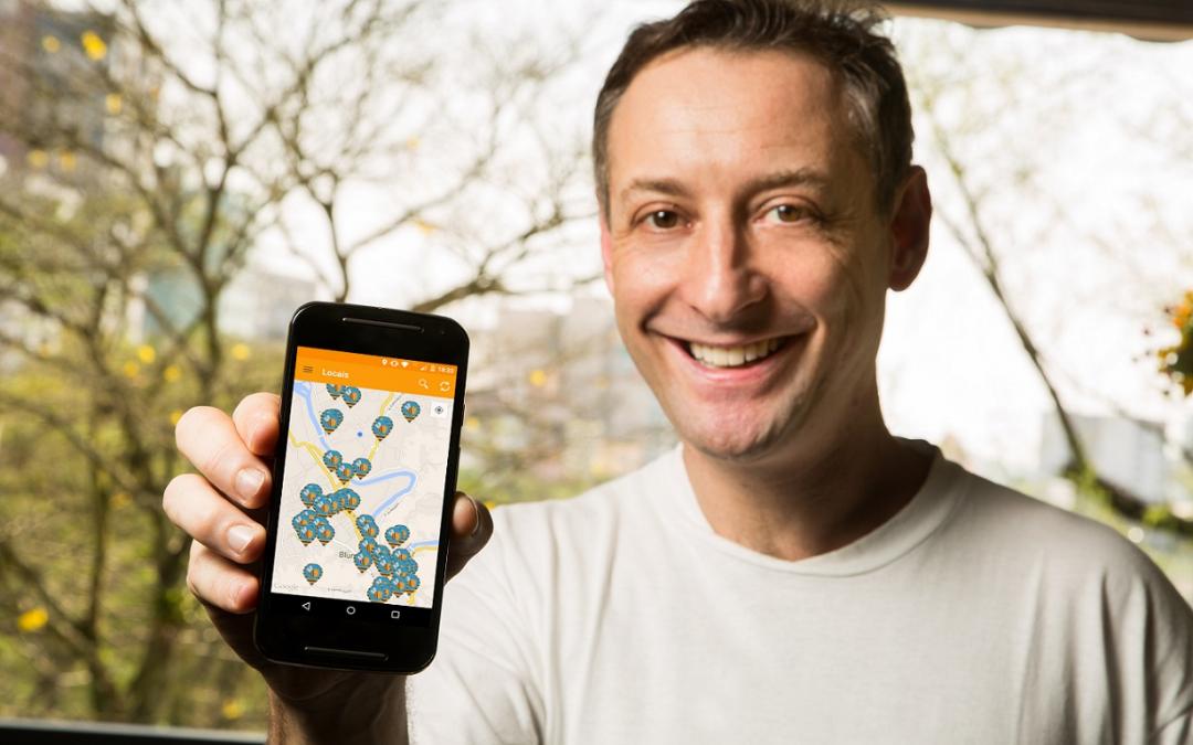 Novo aplicativo estimula interatividade social em locais públicos
