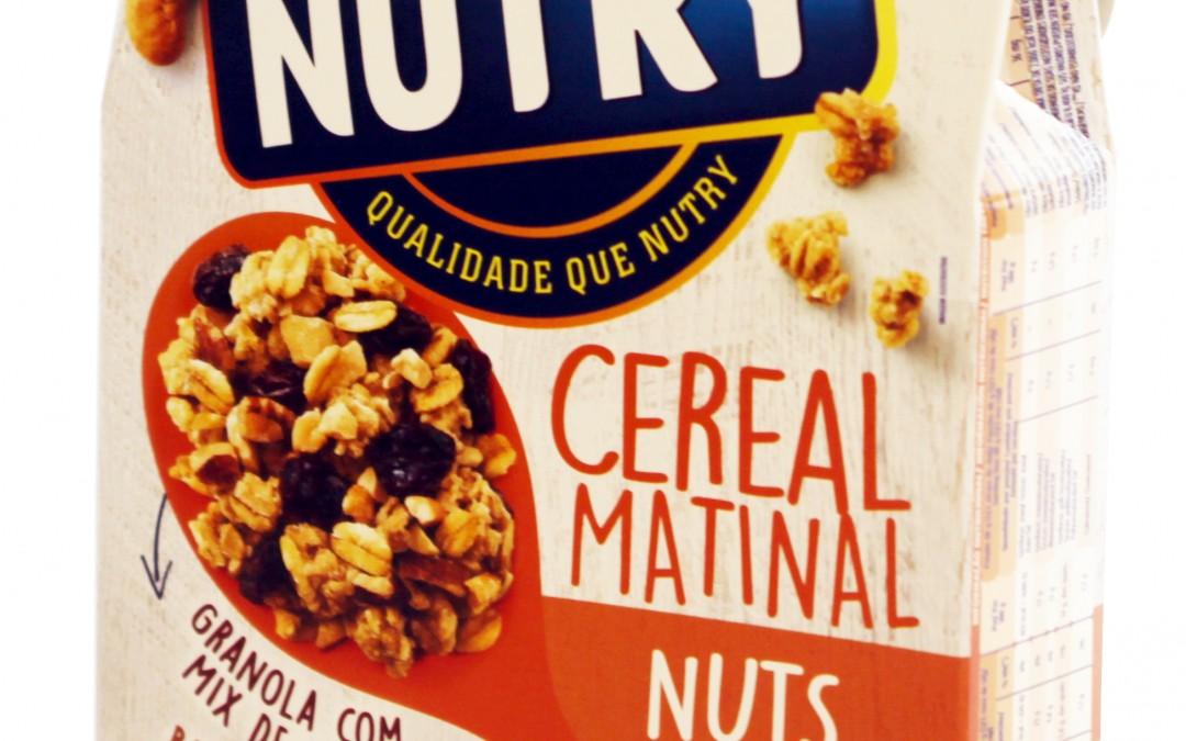 Embalagem do cereal matinal Nutry passa por renovação