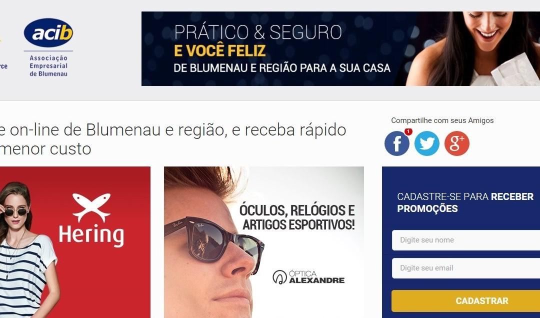 Núcleo de E-commerce da Acib cria página para divulgar localmente as lojas online de Blumenau e região