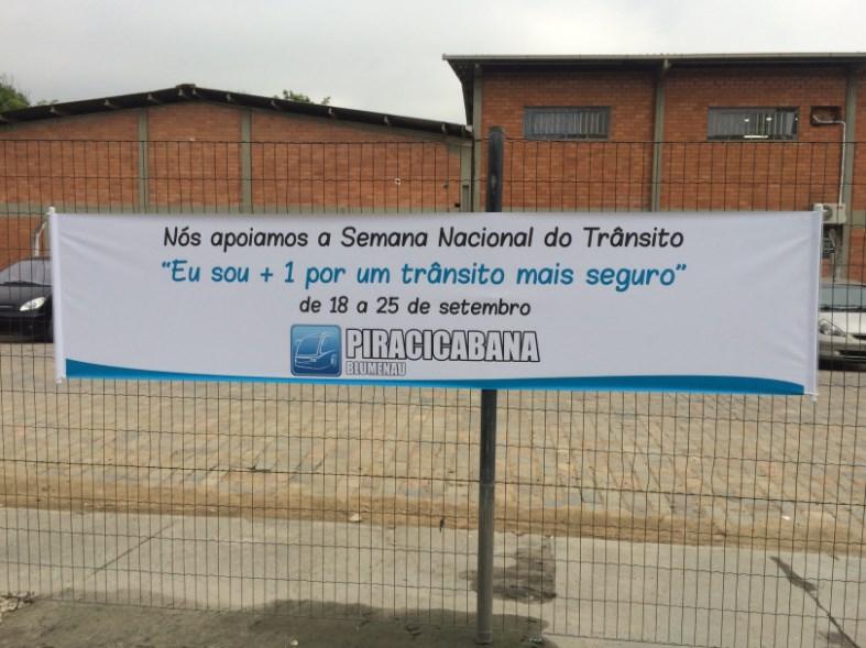 Viação Piracicabana conscientiza população na Semana Nacional de Trânsito (SNT)