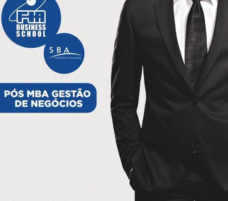 SBA e FIA oferecem pela primeira vez em Blumenau o programa de Pós-MBA em Gestão de Negócios