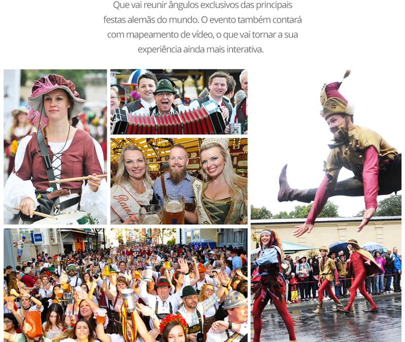 Oktoberfest ganha mostra fotográfica nesta quinta-feira