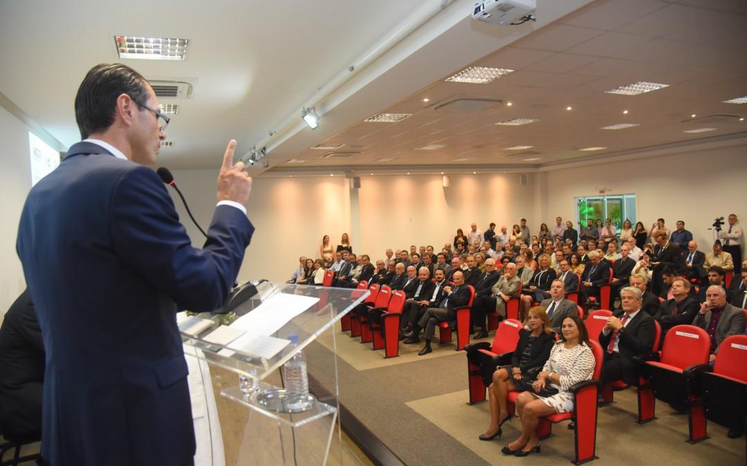 Centro Empresarial Blumenau foi inaugurado oficialmente nesta terça