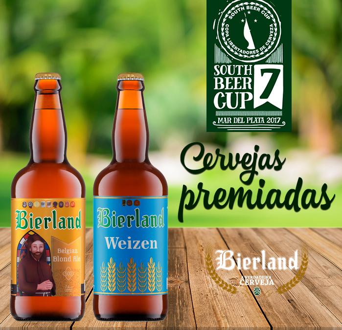 Bierland conquista novas medalhas no South Beer Cup