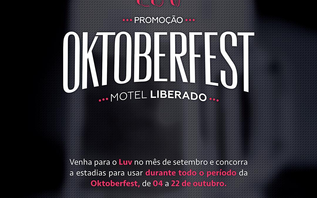De olho nos turistas, motel prepara campanha especial para Oktoberfest