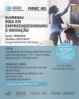 IEL está com Inscrições abertas para MBA em Empreendedorismo e Inovação