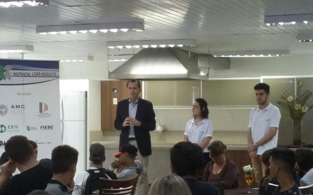 Em 2018, Programa Novos Caminhos proporciona educação profissional a 29 jovens em situação de acolhimento no Vale do Itajaí