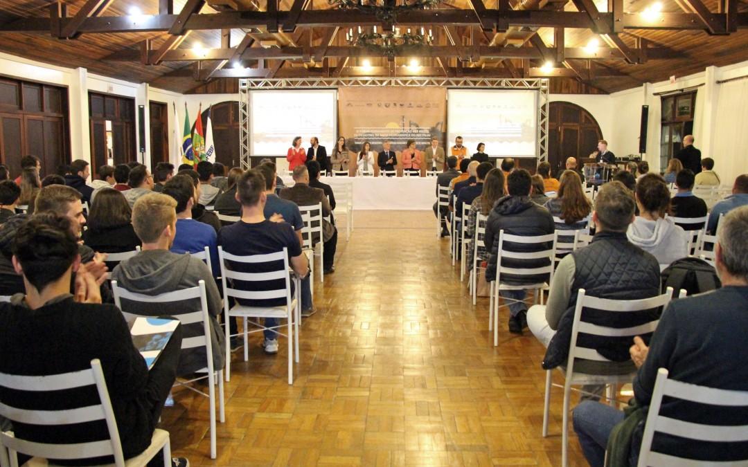 Brusque sedia XI Fórum Permanente de Prevenção aos Riscos de Desastres na Bacia Hidrográfica do Rio Itajaí