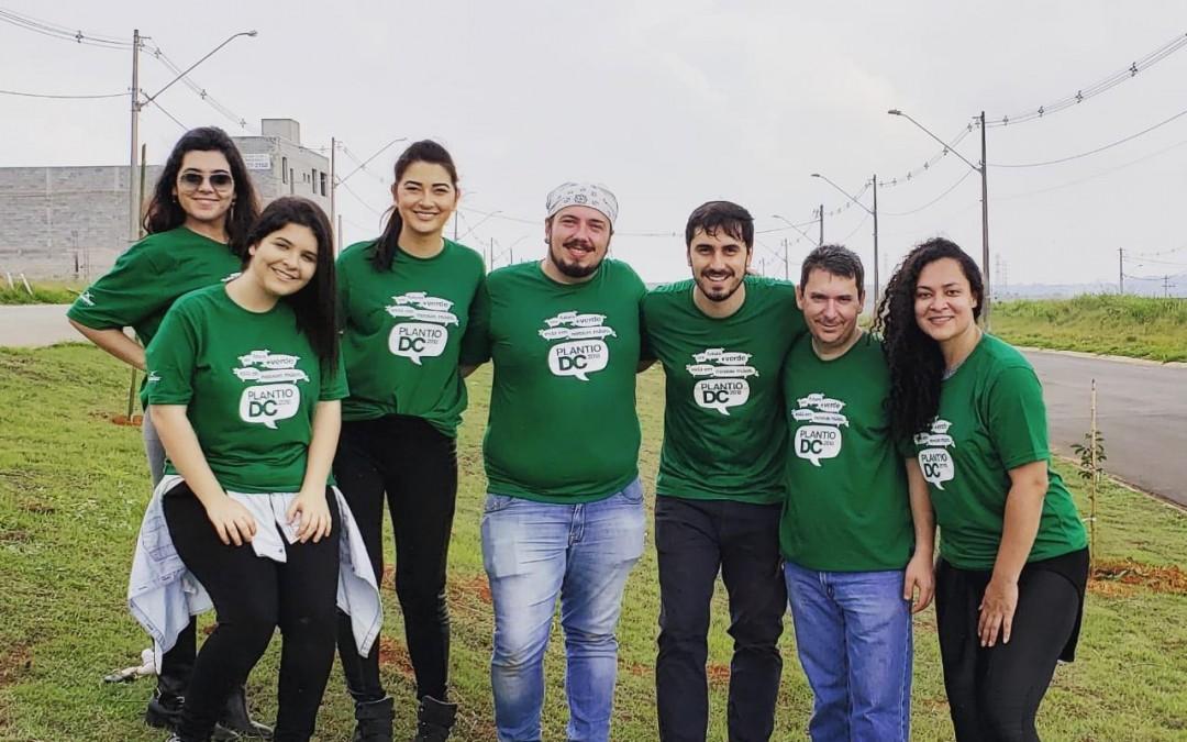 Empresa promove plantio de árvores pelo oitavo ano consecutivo