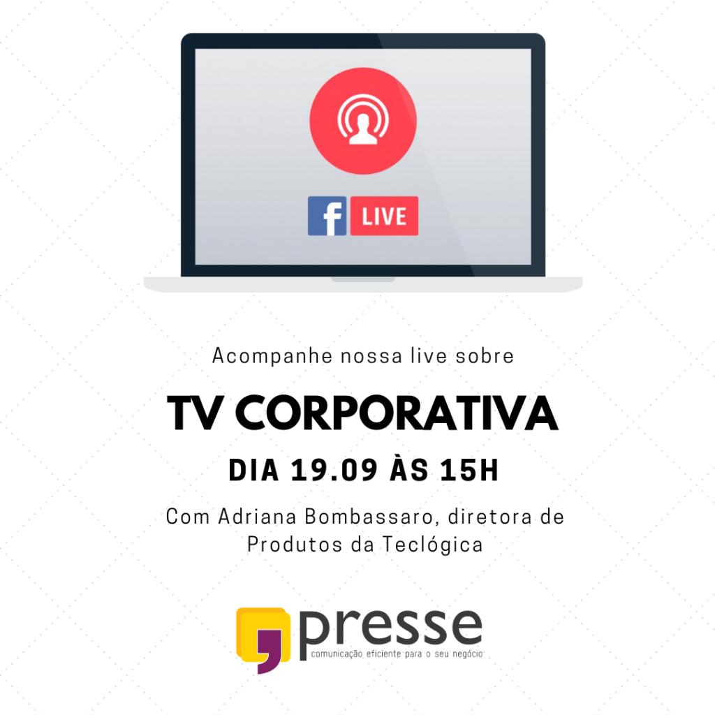 live TV Corporativa