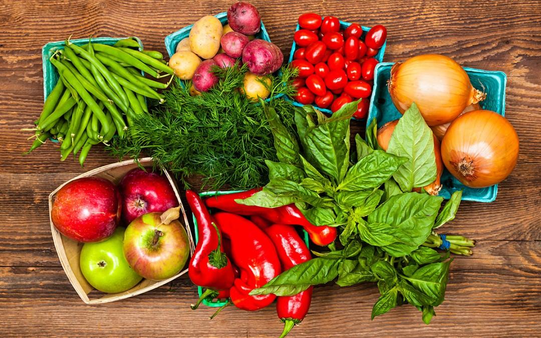 Alimentos classificados como orgânicos podem estar sujeitos a análise