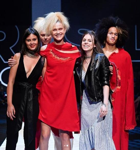 Alunas do SENAI de Blumenau participam do SENAI Brasil Fashion