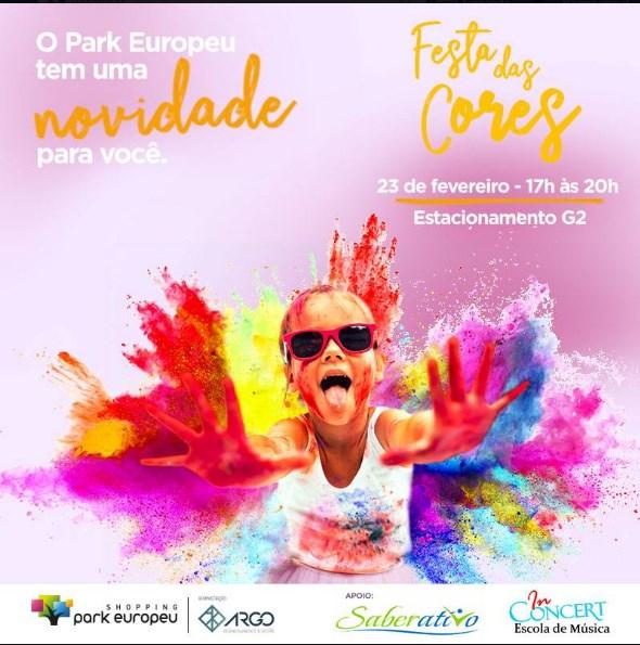 Festa das cores acontece neste fim de semana em Blumenau