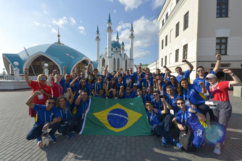 Santa Catarina é bronze no mundial de profissões