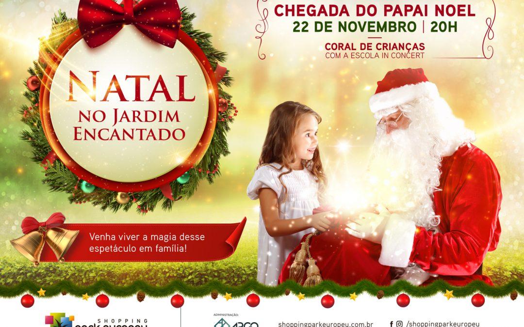 Shopping Park Europeu dá início às comemorações natalinas