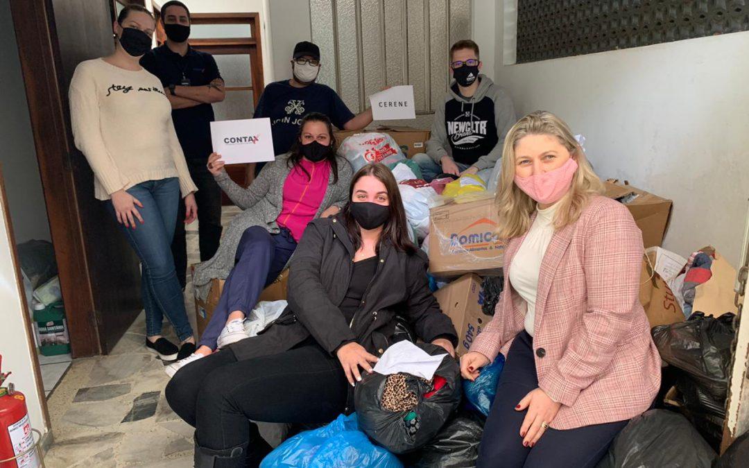 Gincana online arrecada mais de 10 mil itens para doação