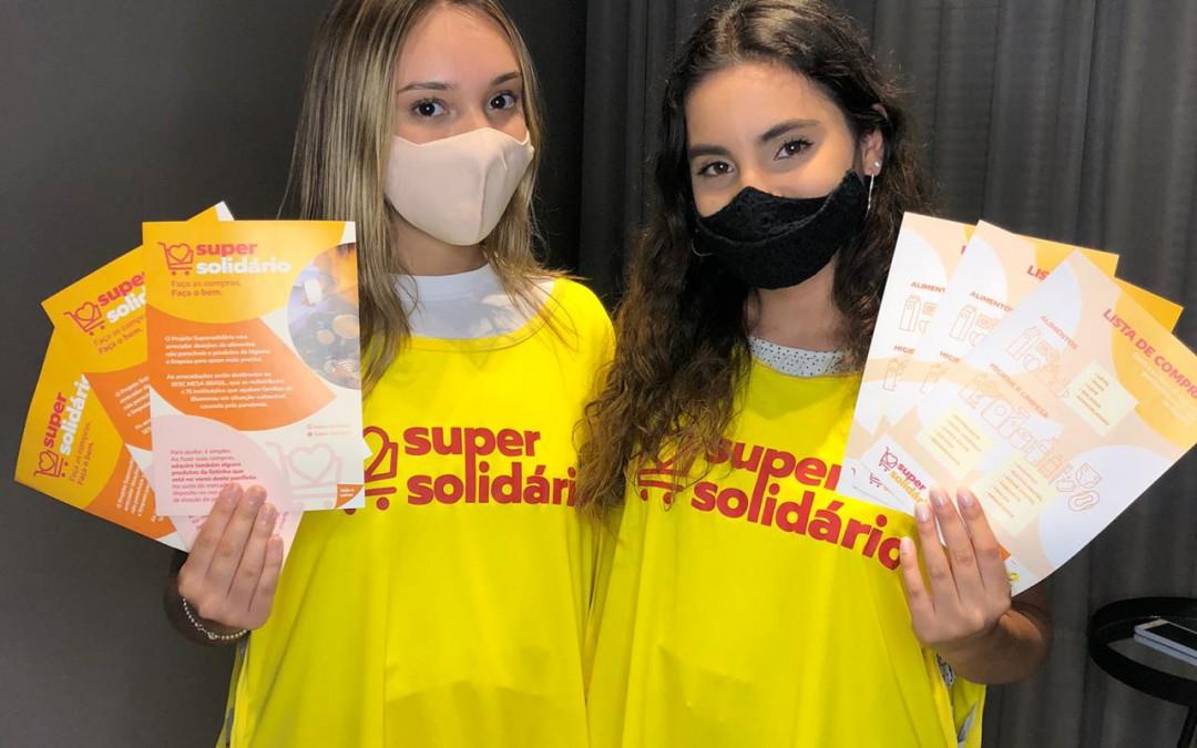 """Projeto """"Super Solidário"""" arrecada doações neste fim de semana em Blumenau"""