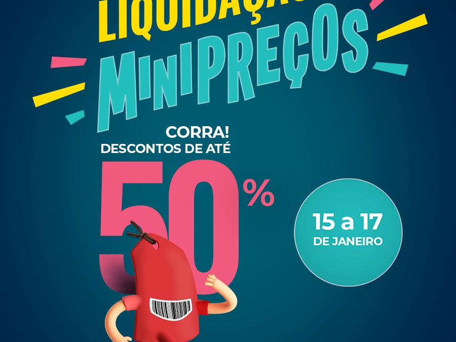 Shopping de Blumenau promove liquidação com até 50% de desconto