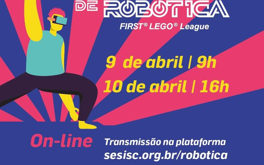 SESI Blumenau participa do Torneio de Robótica