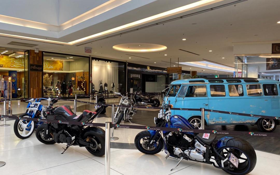 Shopping de Blumenau realiza exposição de motos em celebração ao Dia dos Pais