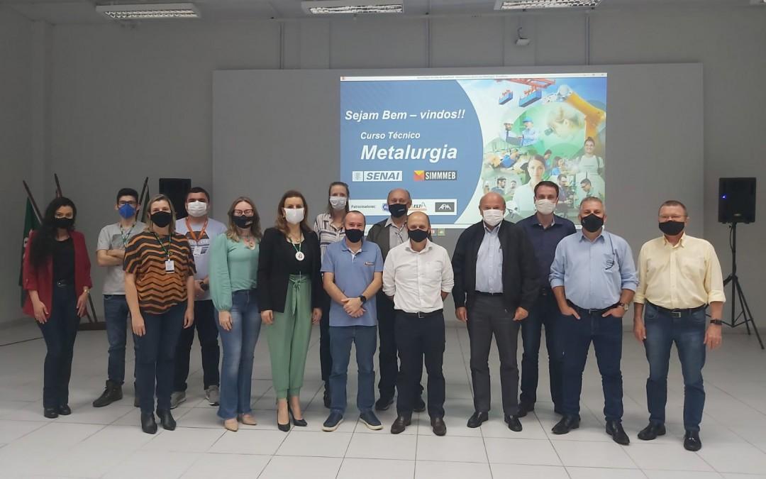 SENAI de Blumenau promove curso voltado para o desenvolvimento do setor metalúrgico da região